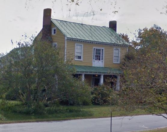 Sarah Jackson Powell Smith Elliott house Nansemond VA